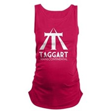 Taggart Transcontinental White Maternity Tank Top