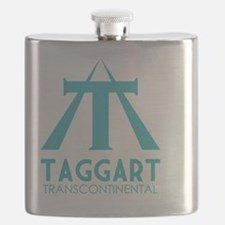 Taggart Transcontinental blue Flask
