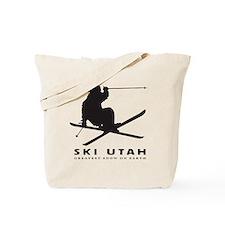 Ski Utah Tote Bag