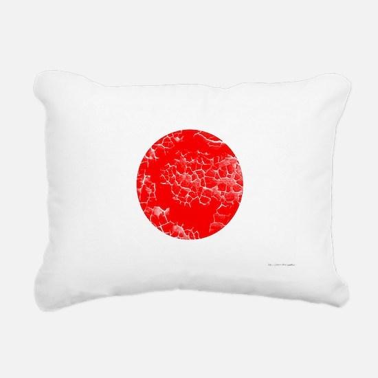 japan-flag Rectangular Canvas Pillow