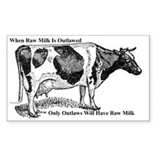 Raw Milk Outlaws V2 Decal