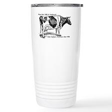 Raw Milk Outlaws V2 Travel Mug