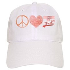 peace_heart_225 Baseball Cap