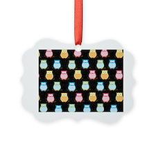 Trendy Owls Laptop Case Ornament