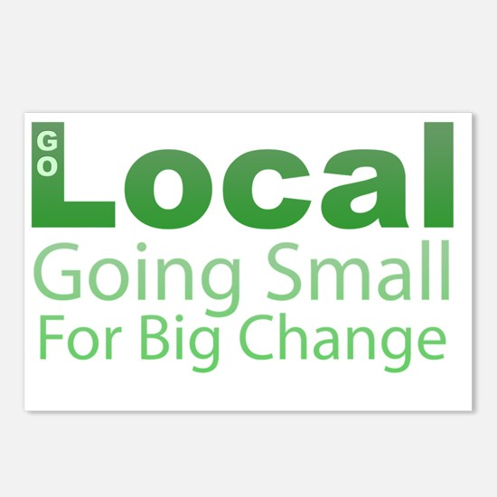 Go Local - Going Small fo Postcards (Package of 8)