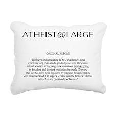 evolutionnoweakness2 Rectangular Canvas Pillow