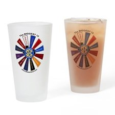 SEC Pinwheel - Large Drinking Glass
