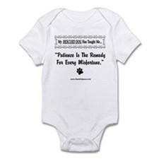 Patience Is The Remedy Infant Bodysuit