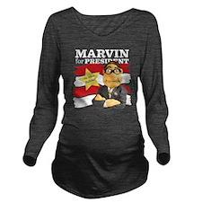 tshirt_Design2B_blac Long Sleeve Maternity T-Shirt