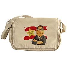 tshirt_Design2B_black Messenger Bag