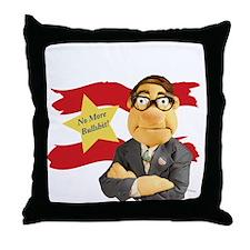 tshirt_Design2B_black Throw Pillow