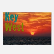 11.5x9at260Sunset1KW Postcards (Package of 8)