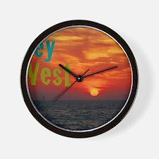 11.5x9at260Sunset1KW Wall Clock