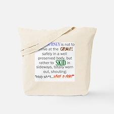 Lifes Journey Tote Bag