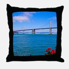 SFO_baybridge Throw Pillow