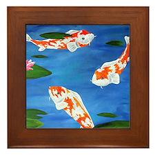 Kio Pond Framed Tile