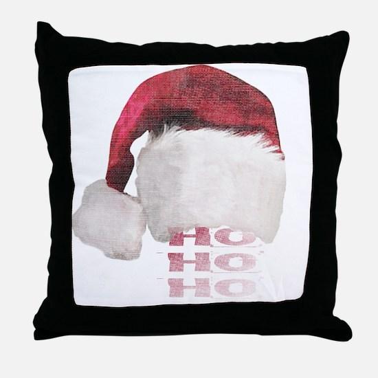ho_ho_ho Throw Pillow