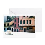 Courtyard of Color Greeting Cards
