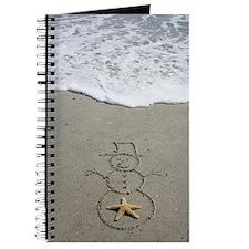Beachwrites Snowman Journal