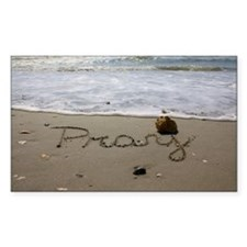 Pray by Beachwrite Decal