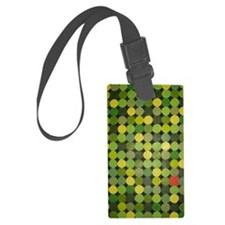 Red Square Luggage Tag