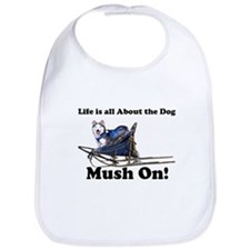 Siberian Husky Mush On! Bib