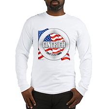 usaelectvoteGINGRICH Long Sleeve T-Shirt
