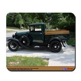 1930 model a ford Classic Mousepad