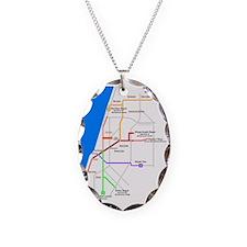 Tel_Aviv_Subway_Map Necklace