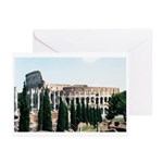 Il Colosseo Greeting Cards