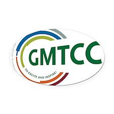 GMTCC logo Oval Car Magnet