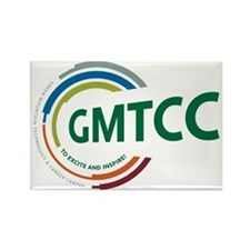 GMTCC logo Rectangle Magnet