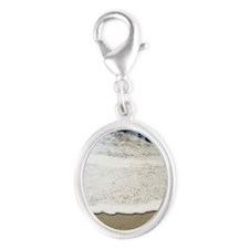 Dream by Beachwrite Silver Oval Charm