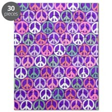 Glitter Peace Signs copyy Puzzle