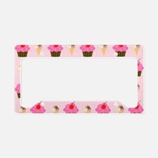 Cupcakes and Ice Cream Laptop License Plate Holder