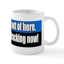 End-hydraulic-fracking-Bumper-Sticker Mug