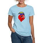 Punk Rock Heart Anti Valentine Women Light T-Shirt