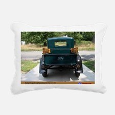3-4 Rectangular Canvas Pillow