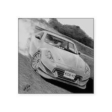 """Nissan 370Z Square Sticker 3"""" x 3"""""""