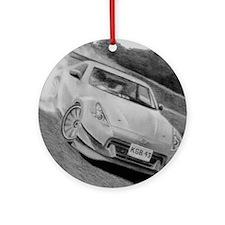 Nissan 370Z Round Ornament