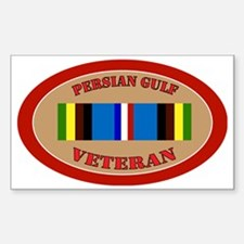 persian-gulf-Expeditionary-ova Sticker (Rectangle)