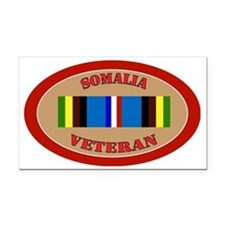 somalia-Expeditionary-oval Rectangle Car Magnet
