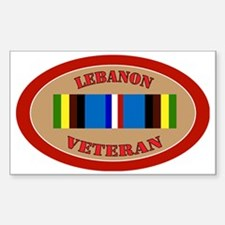 Lebanon-Expeditionary-oval Sticker (Rectangle)