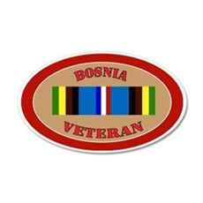 bosnia-Expeditionary-oval Wall Decal