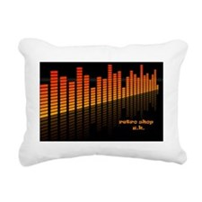 music-background Rectangular Canvas Pillow