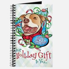 Peppermint Bark Card Front Journal