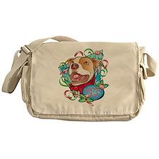 Peppermint Bark Messenger Bag