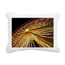Navy Pier Rectangular Canvas Pillow