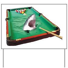 Pool Shark Yard Sign
