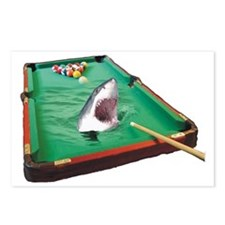 Pool Shark Postcards (Package of 8)